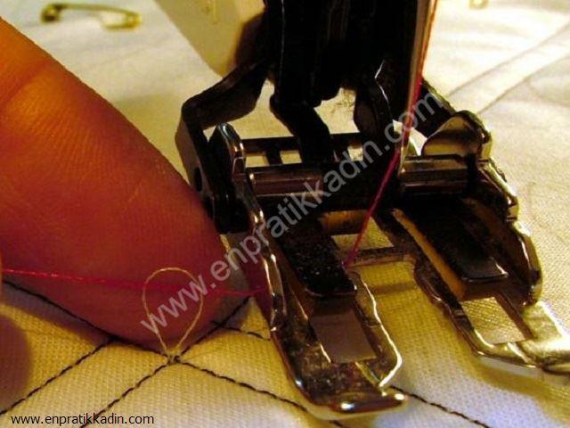 Dikiş Makinesinde İplik Ayarı