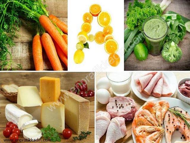 A vitamininin Çocuklara Faydası