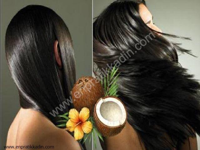 Saç Uzatmada Hindistan Cevizi Yağı