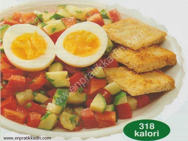 Sarımsaklı Salata ve Kalorisi