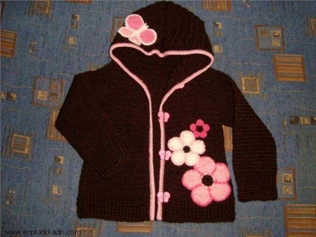 Bebek Ceket ve Yelek Modelleri