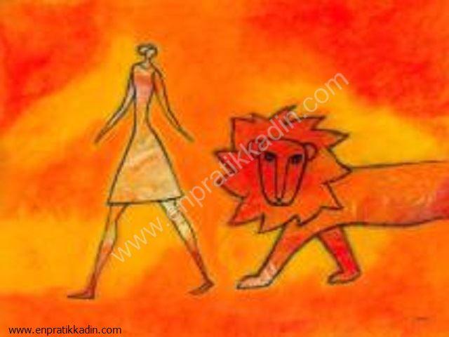 Aslan Burcu Kadını Nasıl Giyinir