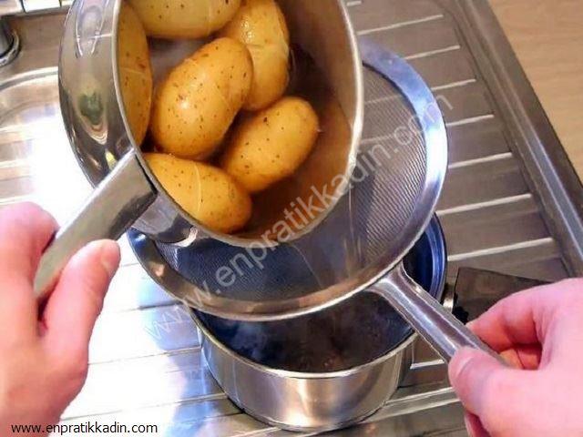 Aynı Anda Patates Haşlamanın Pratik Yolu