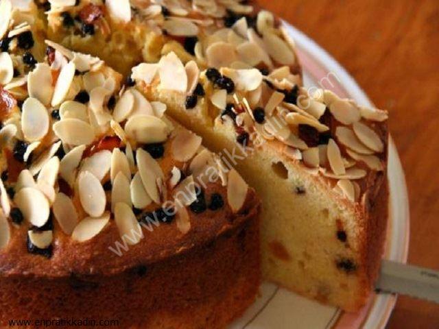 Bademli Kek Tarifi (Sütlü)