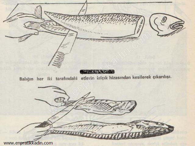 Balığın Temizlenmesi ve Servis Edilmesi