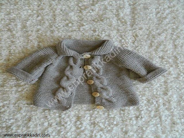 Bebek Hırka Modelleri