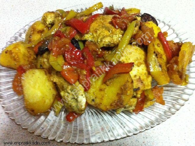 Biberli Patates Tava