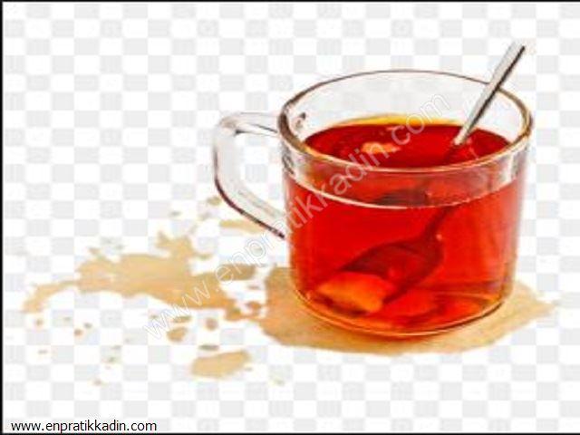 Çay Lekesini Çıkartmanın Püf Noktası