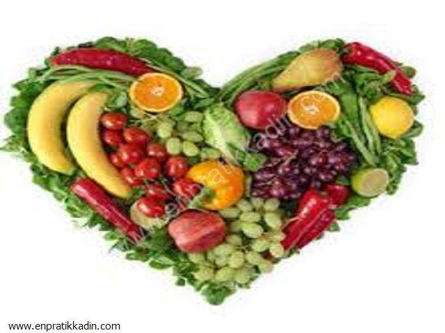 Çeşitli Meyve ve Sebzelerin Faydaları