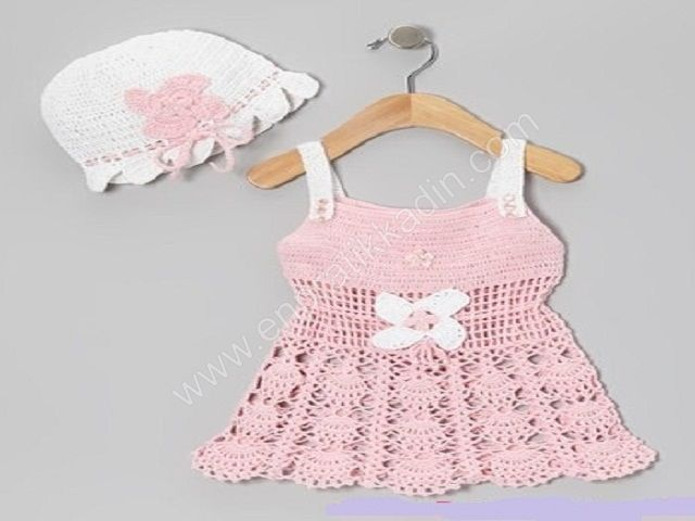 Çocuk ve Bebek Elbise ve Etek Modelleri
