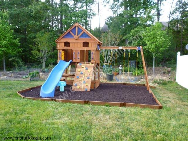 Çocuklar İçin En Uygun Bahçe Düzeni