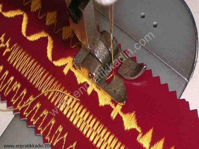 Dikiş Makinesinde Desen Seçici