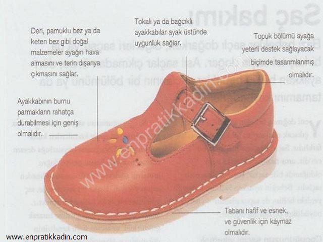 Doğru Çocuk Ayakkabısı Seçimi ve Bilinmesi Gerekenler