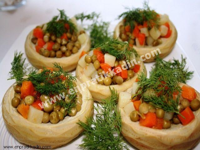 Enginarlı Patates Tava