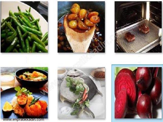 Et, Balık ve Sebze Pişirmede Püf Noktalar