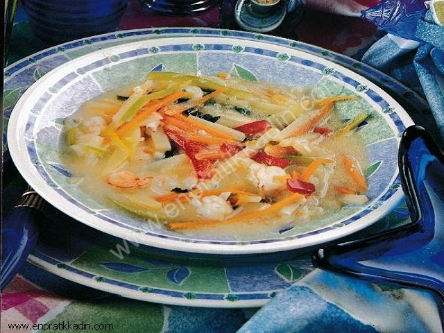 Fener Balığı Çorbası
