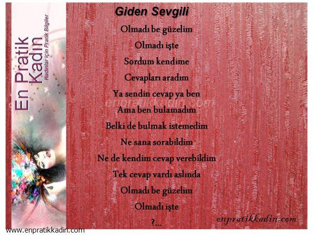 Giden Sevgili