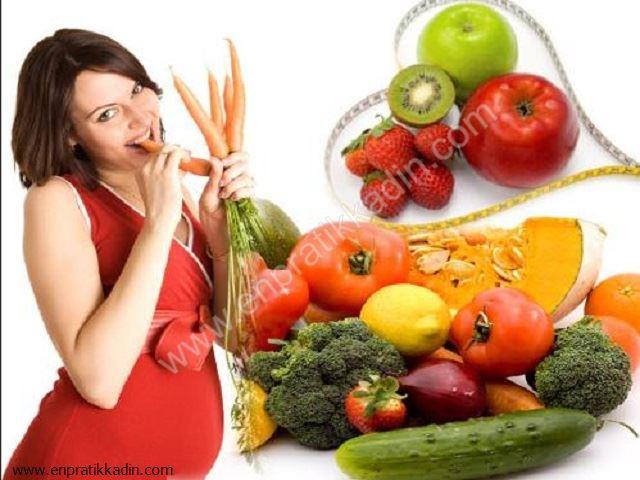 Hamilelikte Doğru Beslenme Şekli
