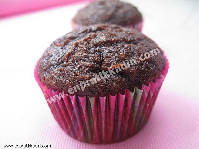 Havuçlu-Kakaolu Muffin