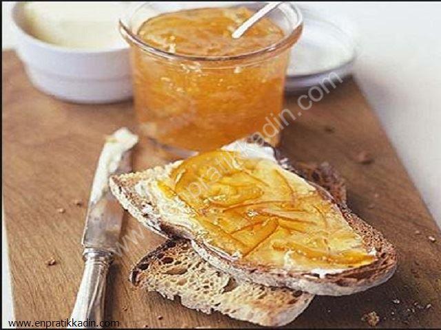 Jöle Şeklinde Portakal Marmelatı Yapımı