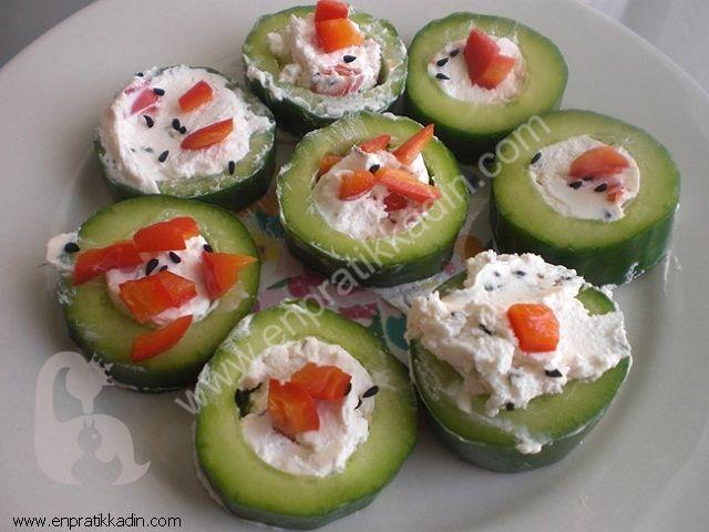 Kabak İçinde Domates Salatası
