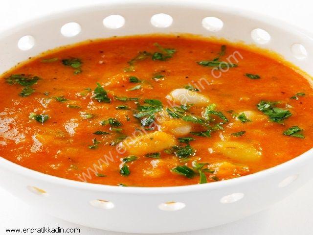 Köy Usulü Domates Çorbası