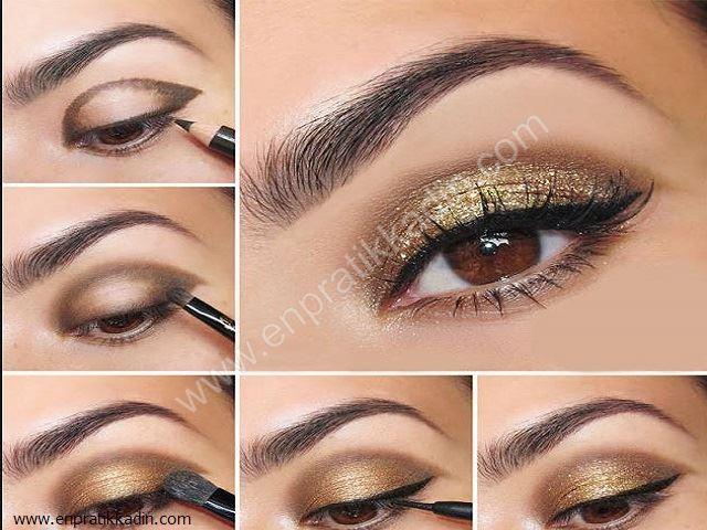 Küçük Gözlere Makyaj Nasıl Yapılır