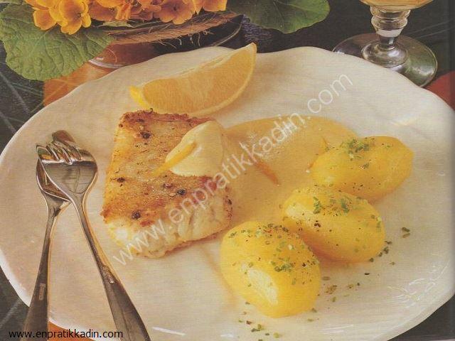 Limon Soslu Balık