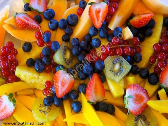 Mango, Kızılcık ve Yaban Mersinin Faydaları