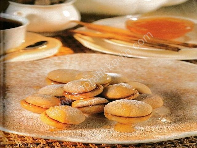 Marmelatlı Kayısı Bisküvi