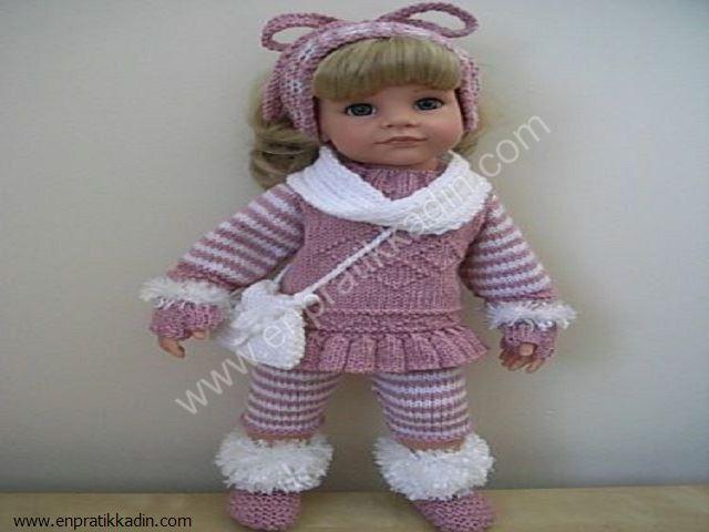 Örgü Oyuncak Çocuk Kıyafetleri
