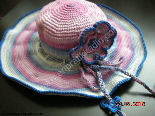 Plaj Şapkası Nasıl Örülür