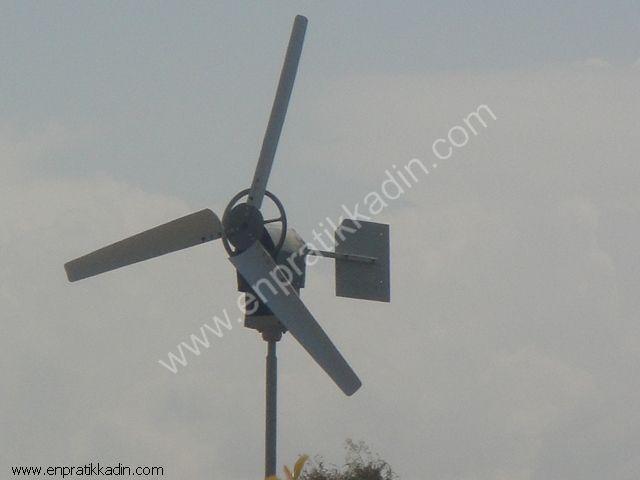 Rüzgar Türbininden Elektrik Üretimi