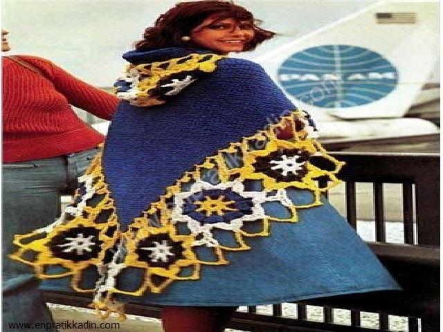Şal, Hırka ve El Örgüsü Elbise Modelleri