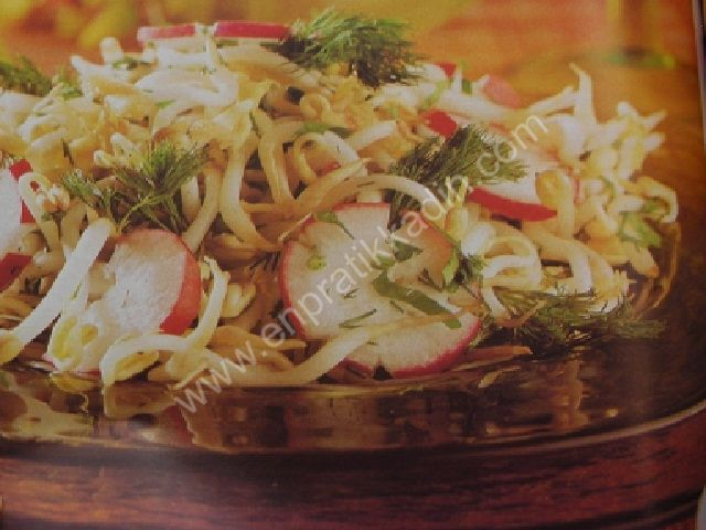 Soya Filizi Salatası