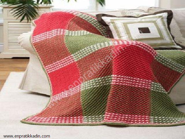 Tunus İşi Battaniye Modelleri