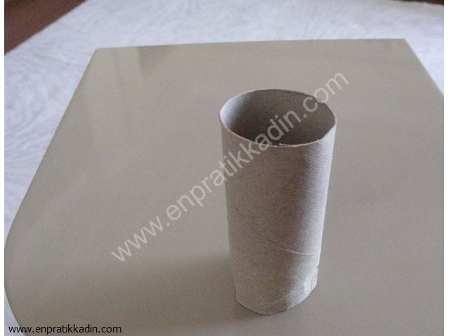 Tuvalet Kağıt Rulosundan Baykuş Yapımı
