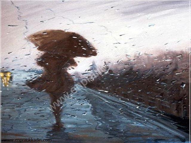 Yağmur Damlasında Hayat