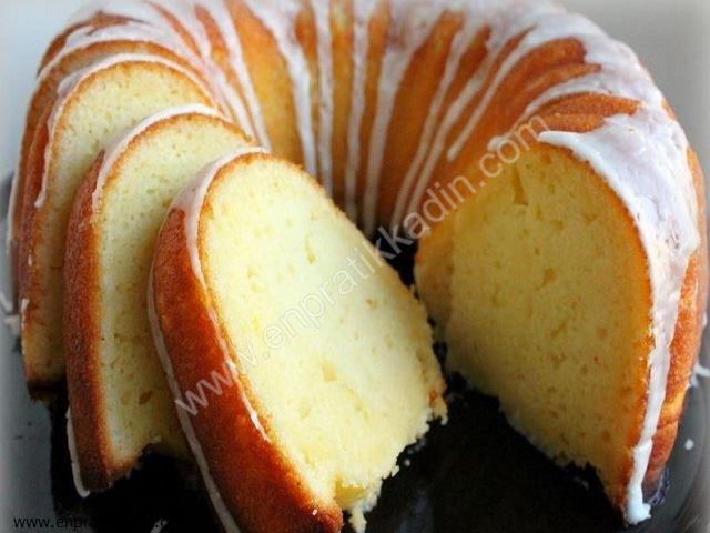 Yoğurtlu Kek Tarifi (Limon Sulu)