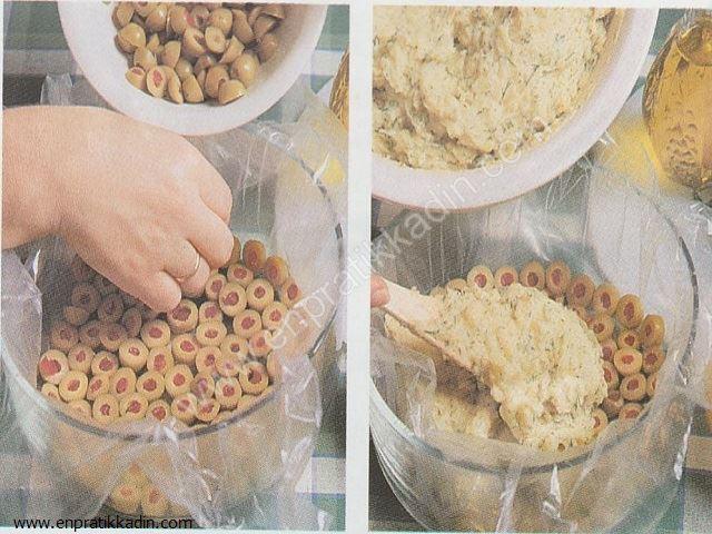Zeytinli Patates Turtası Yapımı